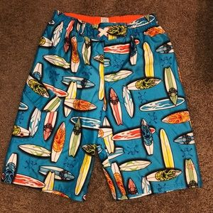 Youth swim trunks